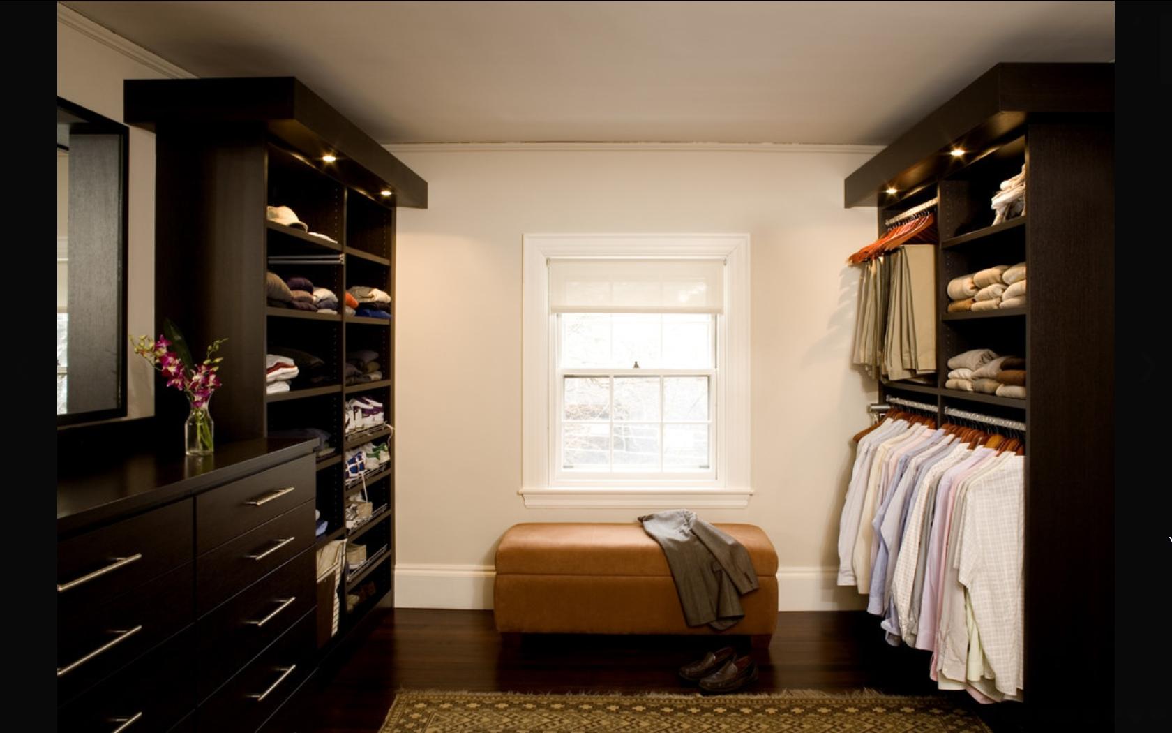 Как обустроить гардеробную комнату: 55 идей интерьера и диза.